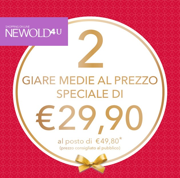 Due giare medie al prezzo speciale di 29,90 Euro su NewOld4you.com