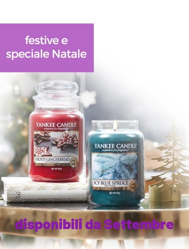 yankee candle festive e natale