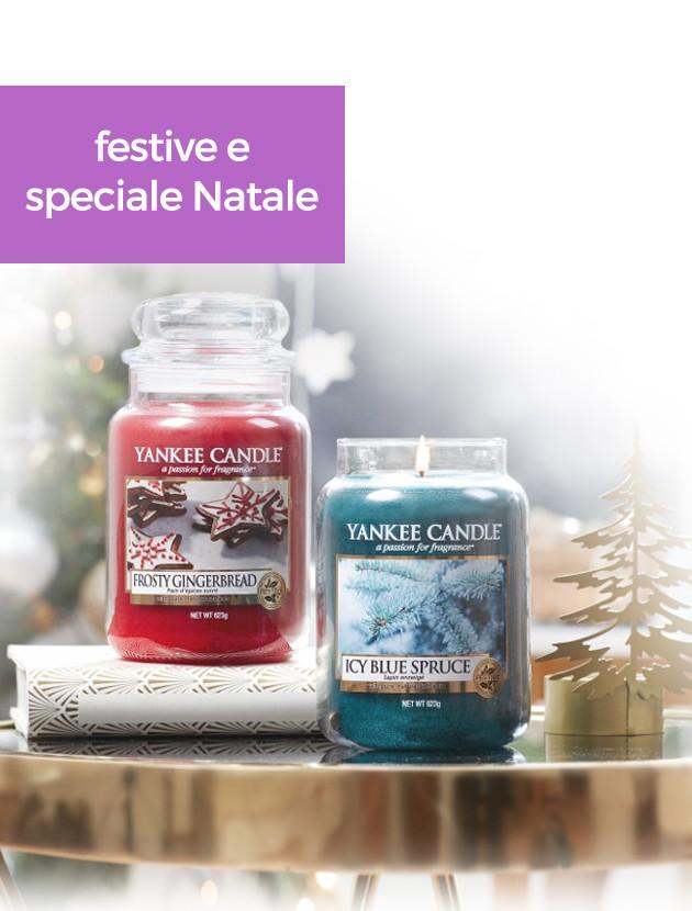 yankee candle natale e festive