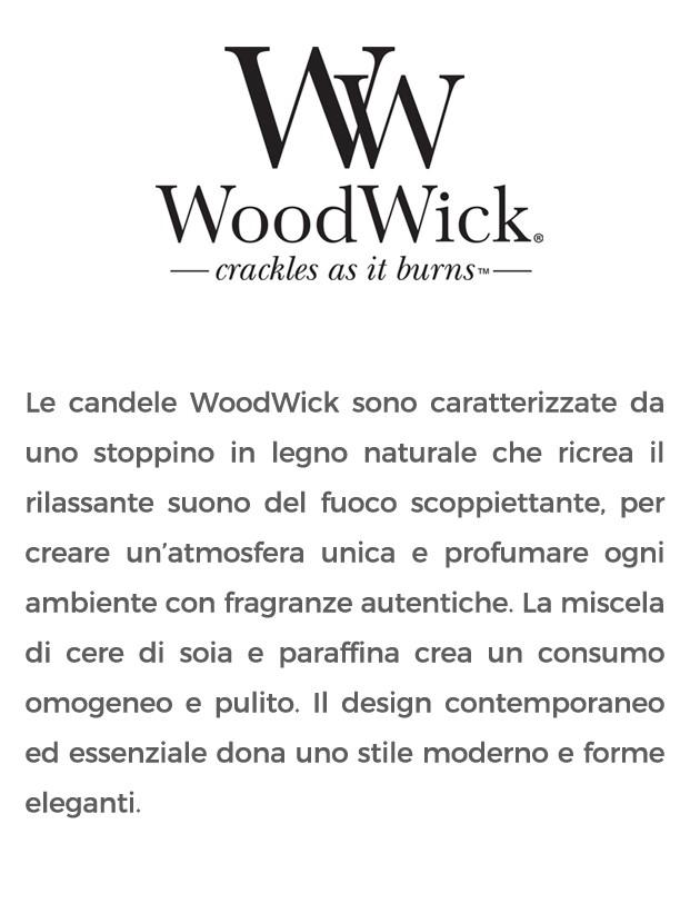 woodwick candele profumate