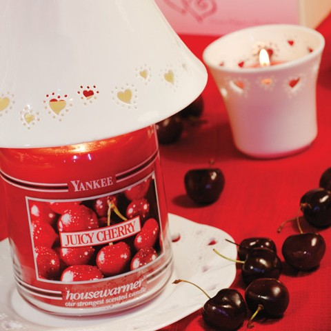 White Hearts Yankee Candle
