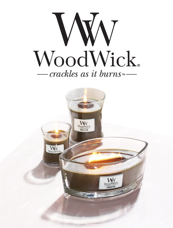 woodwick crackles as it burns