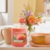 Sun-Drenched Apricot Rose, ambiente
