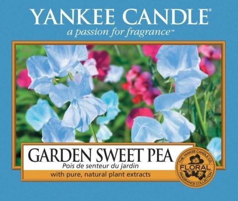 garden sweet pea label