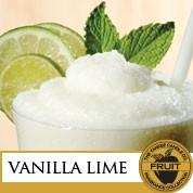 vanilla lime label