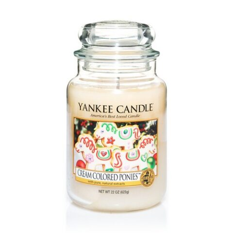 yankee candle cream colored ponies
