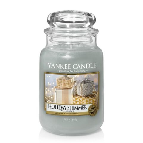yankee candle premium holiday shimmer