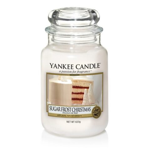 yankee candle premium sugar frost christmas