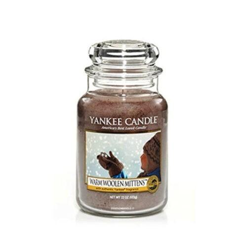 yankee candle premiun warm woolen mittens