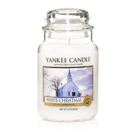 yankee candle premium white christmas