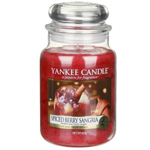 yankee candle premium spiced berry sangria