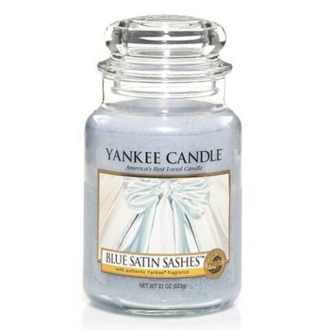 yankee candle bleu satin sashes