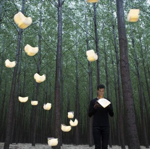 oobook sbamdesign lampada libro luminoso
