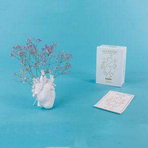 Love In Bloom Vaso Cuore