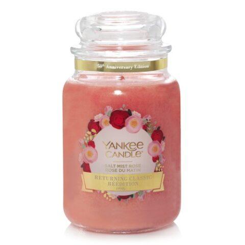 yankee candle salt mist rose premium