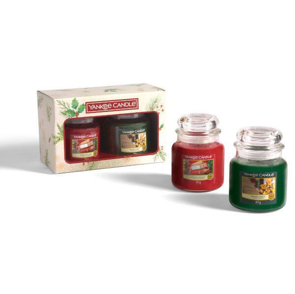 yankee candle gift set 2 giare medie