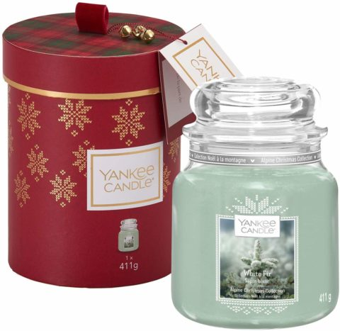 yankee candle giara media white fir