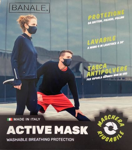active mask banale.