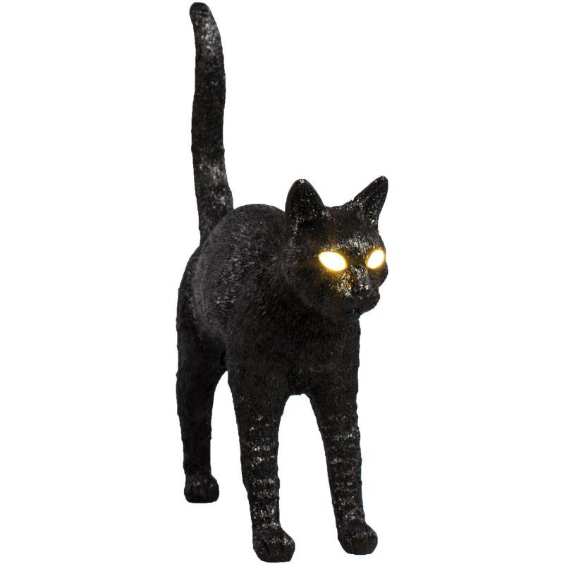 seletti lampada gatto nero
